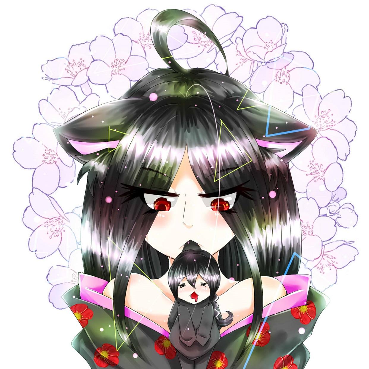 化ヶ猫姫様。