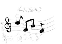 [椅子]ゆらゆら楽譜椅子