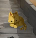 傷だらけの猫