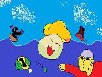 夏といえば海だー