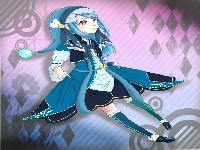 青いお姫様
