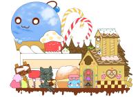 モンスターのお菓子の村