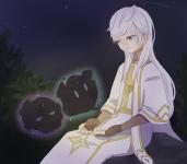 白い魔法使いと精霊
