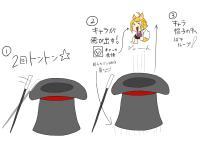マジシャンハット椅子