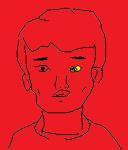 メイプルで一番人気のキャラ 闇の竜騎士セイヤ 描いてみたよ!