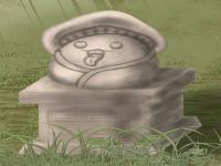 キノコの像