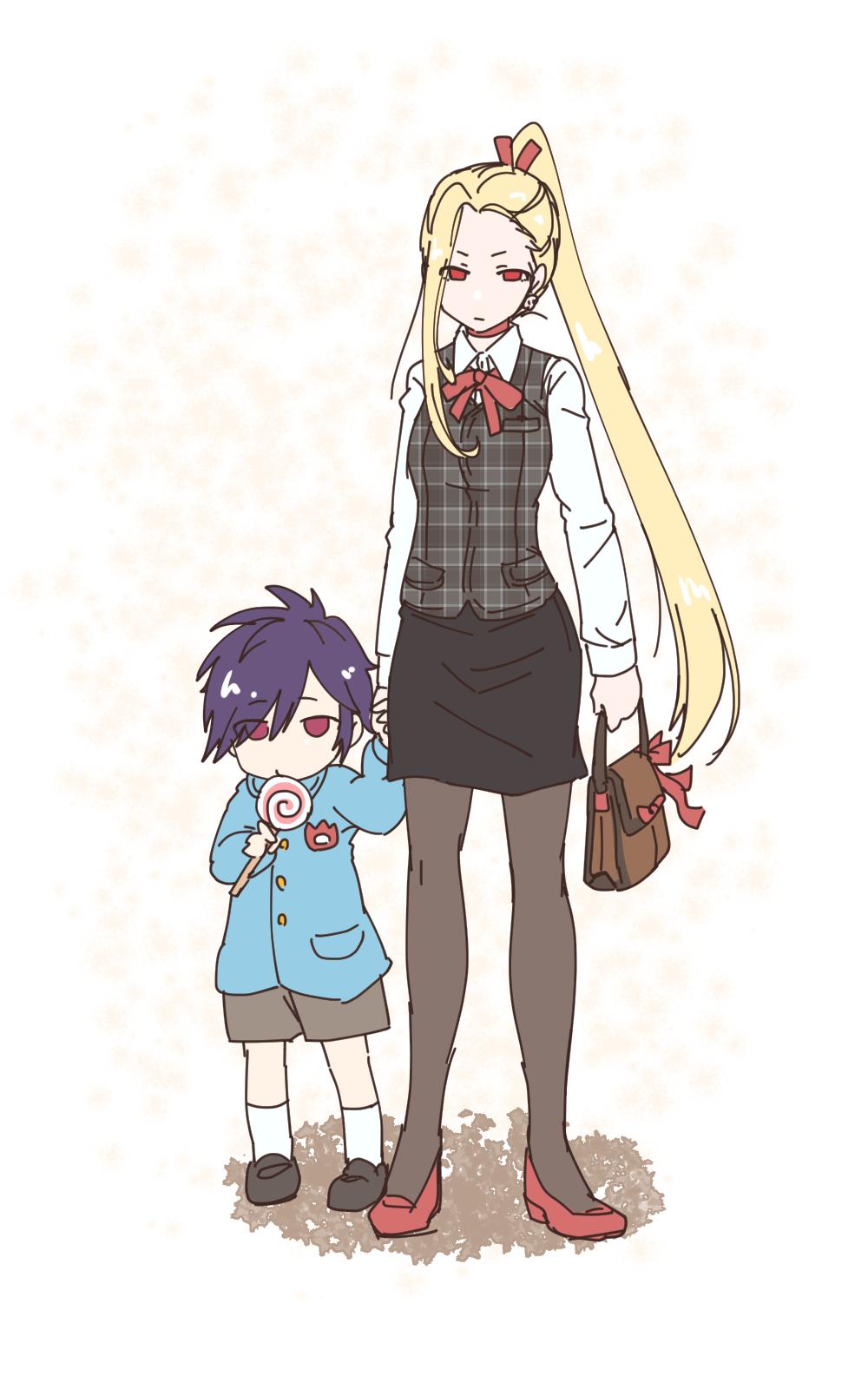 4歳児と保護者